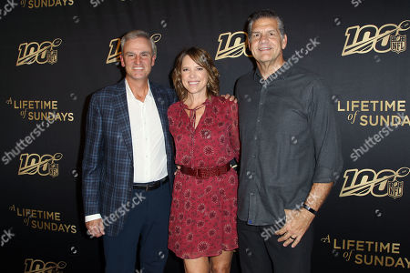 Stock Picture of Trey Wingo, Hannah Storm, Mike Golic