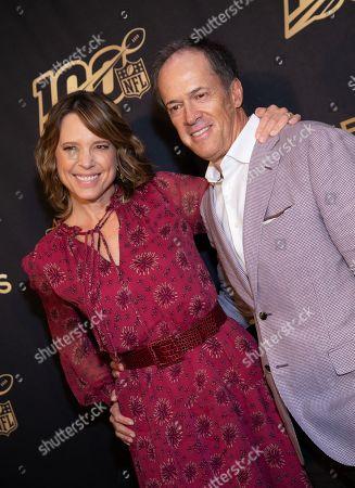 Hannah Storm and Dan Hicks