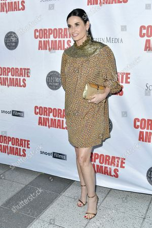 """Demi Moore attends the LA premiere of """"Corporate Animals"""" at NeueHouse, in Los Angeles"""