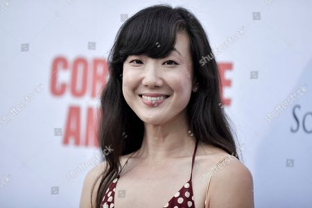 """Jennifer Kim attends the LA premiere of """"Corporate Animals"""" at NeueHouse, in Los Angeles"""