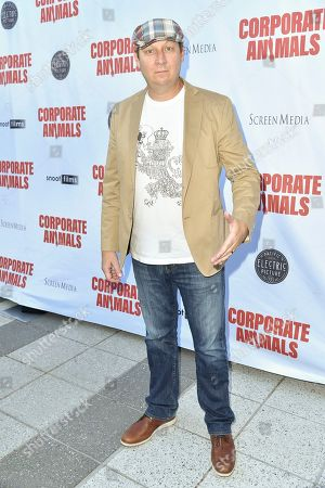 "Stock Photo of Dan Bakkedahl attends the LA premiere of ""Corporate Animals"" at NeueHouse, in Los Angeles"
