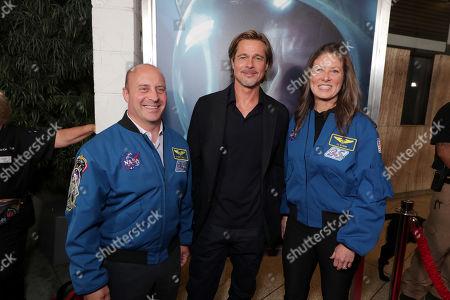 Garrett Reisman, Former NASA Astronaut, Brad Pitt, Tracy Caldwell Dyson, NASA Astronaut,
