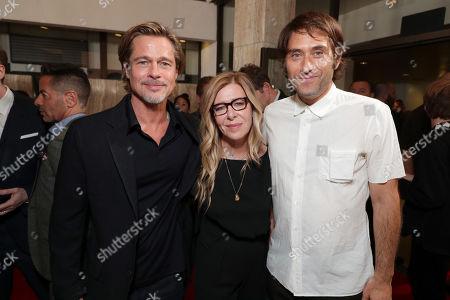 Brad Pitt, Producer/Actor, Dede Gardner, Producer, Jeremy Kleiner, Producer,