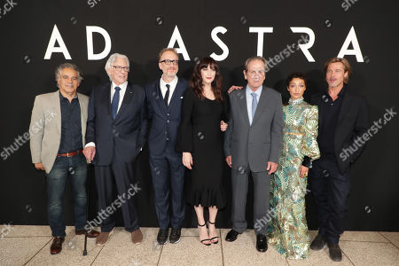 Stock Photo of John Ortiz, Donald Sutherland, James Gray, Director/Writer/Producer, Liv Tyler, Tommy Lee Jones, Ruth Negga, Brad Pitt