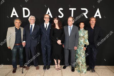John Ortiz, Donald Sutherland, James Gray, Director/Writer/Producer, Liv Tyler, Tommy Lee Jones, Ruth Negga, Brad Pitt