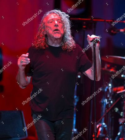 Stock Image of Robert Plant