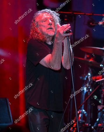 Editorial image of Robert Plant & The Sensational Space Shifters in concert at The Mann Center, Philadelphia Pennsylvania, America - 17 Sep 2019