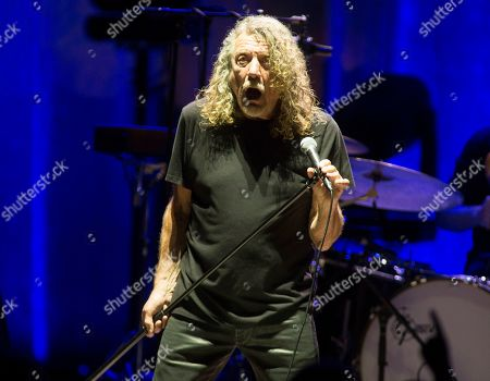 Stock Picture of Robert Plant