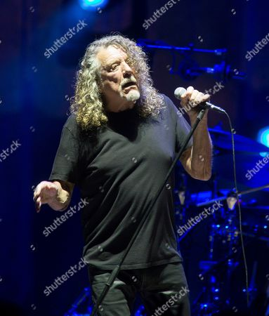 Editorial photo of Robert Plant & The Sensational Space Shifters in concert at The Mann Center, Philadelphia Pennsylvania, America - 17 Sep 2019