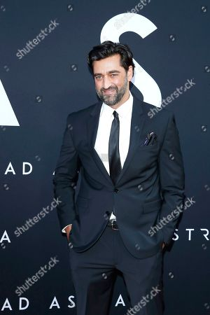 Donnie Keshawarz arrives for the premiere of the film 'Ad Astra' at the Cinema Dome in Hollywood, Los Angeles, California, USA, 18 September 2019. The movie opens in the US on 20 September 2019.