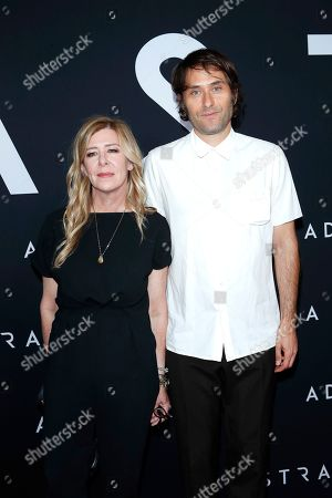 Dede Gardner, Jeremy Kleiner arriving for the premiere of Ad Astra at the Cinema Dome in Hollywood, Los Angeles, California, USA 18 September 2019. The movie opens in the US 20 September 2019.
