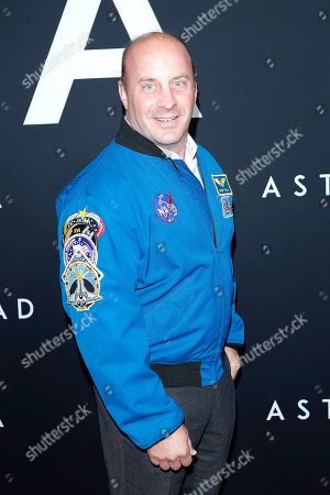 Stock Picture of US astronaut Garrett Reisman arriving for the premiere of Ad Astra at the Cinema Dome in Hollywood, Los Angeles, California, USA 18 September 2019. The movie opens in the US 20 September 2019.