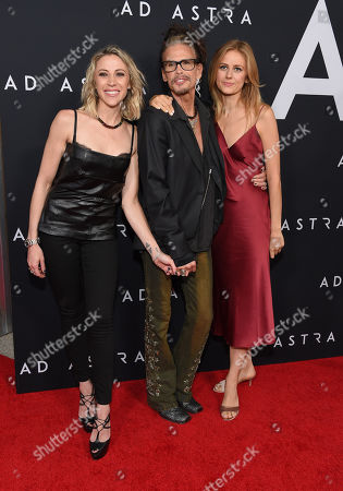 Aimee Preston, Steven Tyler and Justine Lupe