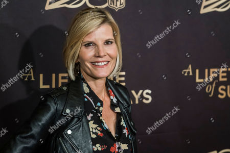 "Stock Image of Kate Snow attends a screening of ""A Lifetime of Sundays"" at The Paley Center for Media, in New York"