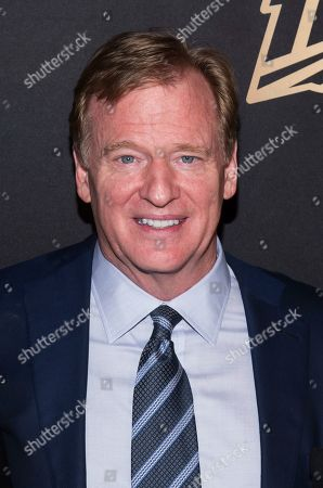 """Roger Goodell attends a screening of """"A Lifetime of Sundays"""" at The Paley Center for Media, in New York"""