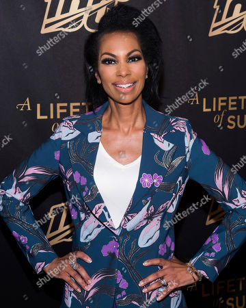 "Stock Picture of Harris Faulkner attends a screening of ""A Lifetime of Sundays"" at The Paley Center for Media, in New York"