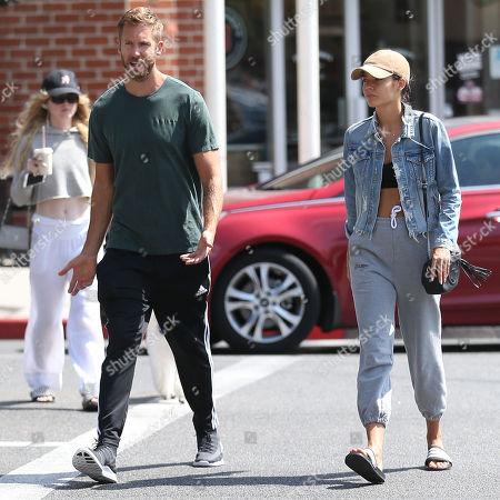 Calvin Harris and girlfriend Aarika Wolf