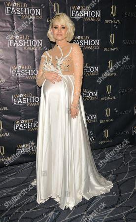 Editorial image of World Fashion Awards, London, UK - 18 Sep 2019