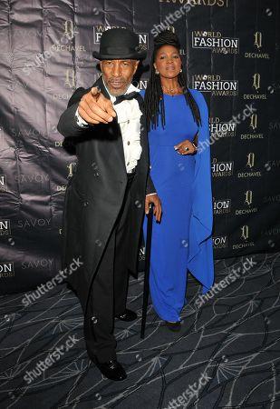 Stock Picture of Danny John-Jules and Petula Langlais