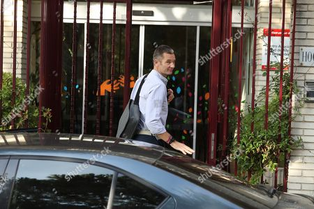 Inaki Urdangarin, husband of Spanish Princess Cristina, sister of Spain's King Felipe VI, arrives to the Home Don Orione to attend his first day of volunteering with people with intellectual disabilities in Pozuelo de Alarcon, Madrid, Spain, 19 September 2019. Urdangarin is out of Brieva prison for the first time after he entered 18 June 2018 to serve a five years and 10 months sentence for his involvement in the Noos Case, as he was found guilty for several charges of corruption and tax offenses. The women's Brieva prison counts with a small module for men, currently empty, where Urdangarin is on his own.