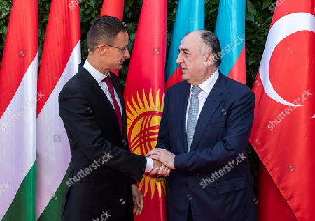 Editorial image of Opening of the Turkic Speaking Countries Cooperation Council office in Budapest, Hungary - 19 Sep 2019