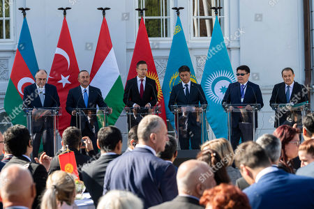Editorial photo of Opening of the Turkic Speaking Countries Cooperation Council office in Budapest, Hungary - 19 Sep 2019