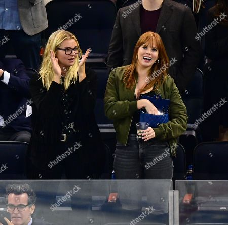 Editorial picture of Celebrities at New Jersey Devils v New York Rangers NHL ice hockey match, Madison Square Garden, New York, USA - 18 Sep 2019