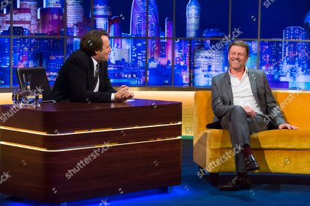 Stock Picture of Jonathan Ross, Sean Bean