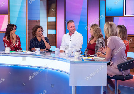 Andrea McLean, Nadia Sawalha, James Jordan, Ola Jordan, Carol McGiffin and Jane Moore
