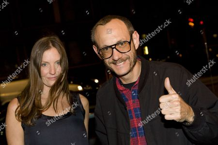 Stock Photo of Camilla Johnson-Hill and Terry Richardson