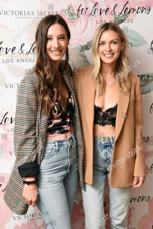 Editorial picture of Victoria's Secret x Love and Lemons Lingerie Collection Launch, New York, USA - 19 Sep 2019