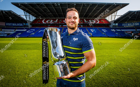 Ospreys' Dan Evans pictured at Cardiff City Stadium, the site of the 2020 Guinness PRO14 Final which takes place on June 20