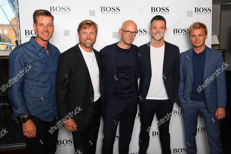 Henrik Stenson, Alex Thomson, Mark Langer, André Lotterer and Nico Rosberg
