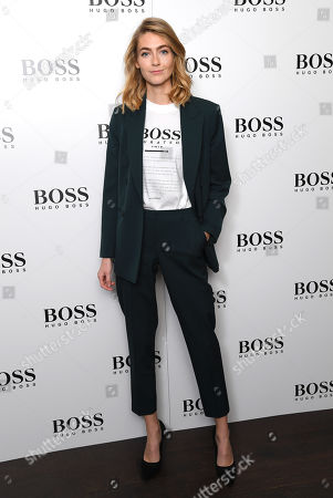 Editorial image of Hugo Boss Boat Christening Ceremony and Cocktail Party, London, UK - 19 Sep 2019