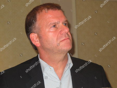 This photo shows Texas billionaire Tilman Fertitta at a press conference in his Golden Nugget casino in Atlantic City, N.J. He tells The Associated Press his dual role as owner of the NBA's Houston Rockets as well as of casinos that take sports bets has actually hurt his sports betting business