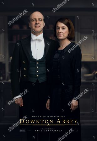Downton Abbey (2019) Poster Art. Downton Abbey (2019) Poster Art. Kevin Doyle as Mr. Molesley and Raquel Cassidy as Miss Baxter