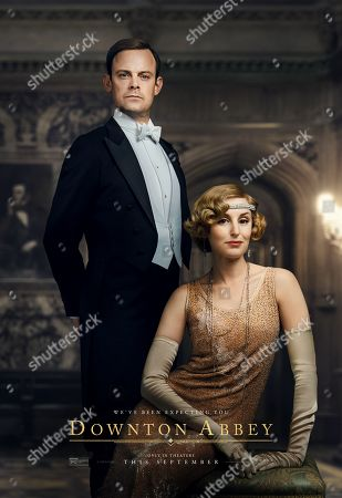 Downton Abbey (2019) Poster Art. Harry Hadden-Paton as Bertie Hexham and Laura Carmichael as Lady Edith Crawley