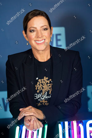 Sarah McLachlan attends WE Day Toronto at the Scotiabank Arena, in Toronto