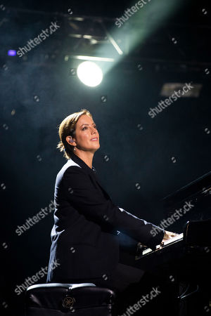 Sarah McLachlan performs during WE Day Toronto at the Scotiabank Arena, in Toronto