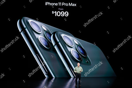 Stock Photo of Phil Schiller, Senior Vice President of Worldwide Marketing, talks about the new iPhone 11 Pro and Max, during an event to announce new products in Cupertino, Calif. Apple's iOS 13 software update comes with plenty of privacy enhancements - though in some cases, you need to take the time to understand how they work. Among the changes: You'll be able to sign in to third-party services with your Apple ID account rather than Facebook's or Google's. The free update is available for existing iPhones on Thursday, Sept. 19 and will ship with new models out Friday, Sept. 20