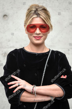 Emma Marrone in the front row