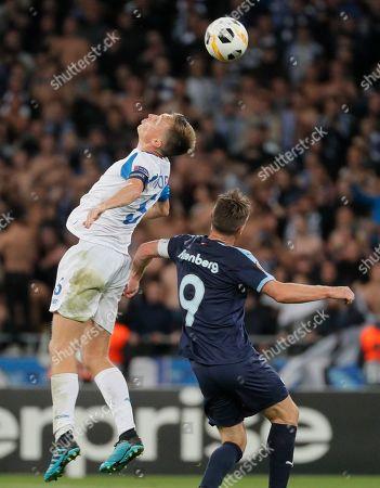 Editorial picture of Dynamo Kyiv vs Malmo, Kiev, Ukraine - 19 Sep 2019
