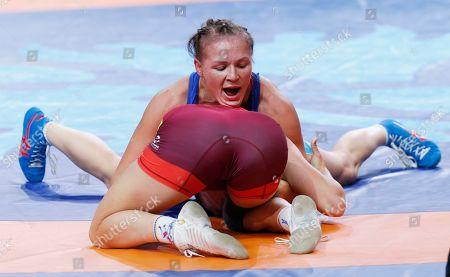 Editorial picture of World Wrestling Championships, Nur-Sultan, Kazakhstan - 19 Sep 2019