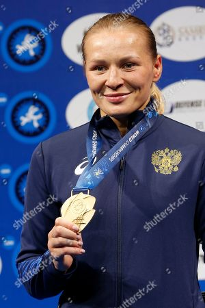 Editorial photo of World Wrestling Championships, Nur-Sultan, Kazakhstan - 19 Sep 2019
