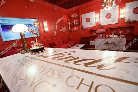 The Lindt Chocolate Lounge at Fox's 2019 Emmy Awards Press Preview on in Los Angeles, Calif
