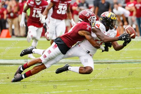 Editorial image of Maryland Temple Football, Philadelphia, USA - 14 Sep 2019