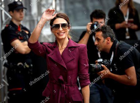 Barbara Lennie arrives for the 67th San Sebastian Film Festival, in San Sebastian, Basque Country, Spain, 19 September 2019. The SSIFF runs from 20 to 28 September.
