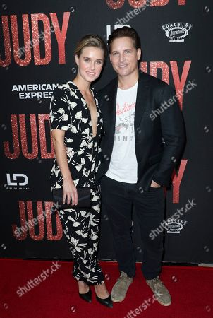 Stock Picture of Lily Anne Harrison and Peter Facinelli