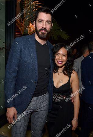 Stock Photo of Drew Scott and Linda Phan