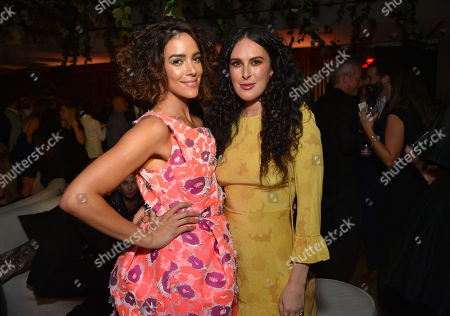 Tiffany Dupont and Rumer Willis